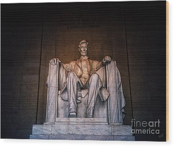 The President Wood Print by Nishanth Gopinathan