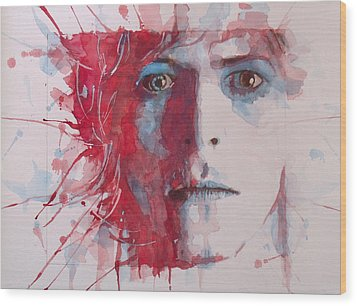 The Prettiest Star Wood Print by Paul Lovering