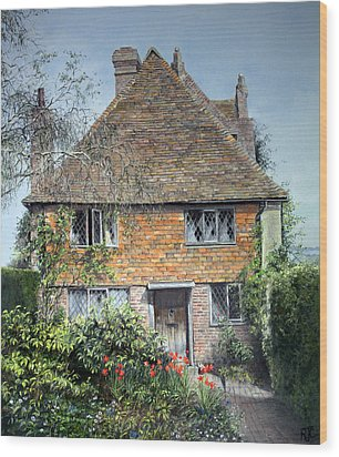 The Priests House Sissinghurst Castle Wood Print