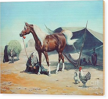 The Prize Wood Print by Jeanne Newton Schoborg