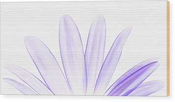 The Purple In Your Soul Wood Print