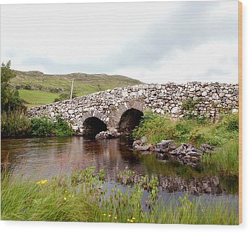 The Quiet Man Bridge Wood Print