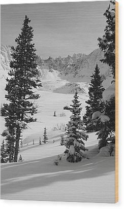 The Quiet Season Wood Print by Eric Glaser