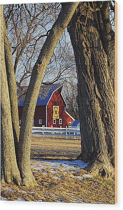 The Quilt Barn Wood Print