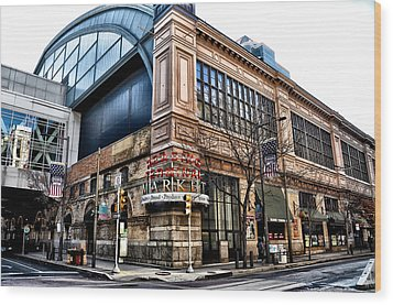 The Reading Terminal Market Wood Print by Bill Cannon