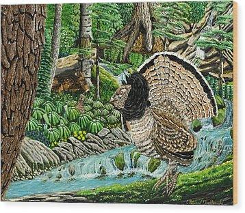 The Real Thunder Bird  Wood Print