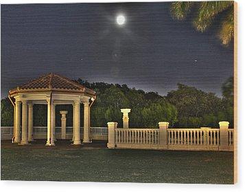 The Resort At Marina Village Wood Print by Ash Sharesomephotos