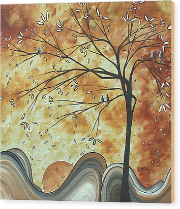 The Resting Place By Madart Wood Print by Megan Duncanson