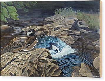 The Resting Place Wood Print by Rick Huotari