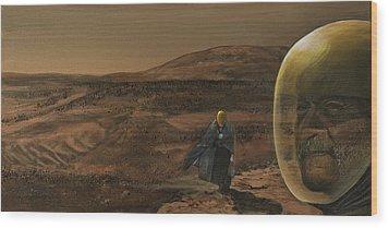 The Return Wood Print by Simon Kregar