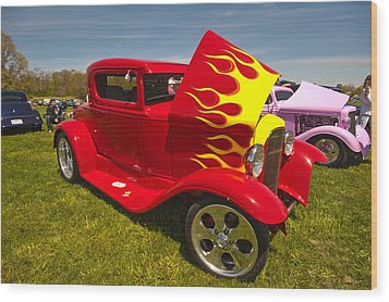 The Ride Wood Print by Terry Cosgrave