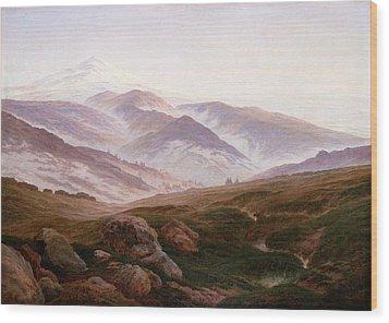 The Riesengebirge  Wood Print by Philip Ralley