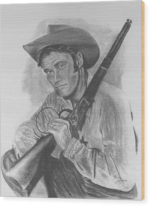 The Rifleman Wood Print