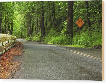 The Road Ahead Wood Print by Andrew Soundarajan