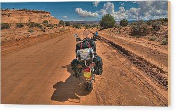 The Road Ahead Wood Print