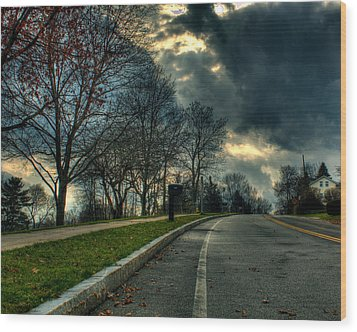 The Road Wood Print by Tim Buisman