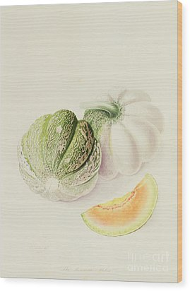 The Romana Melon Wood Print by William Hooker