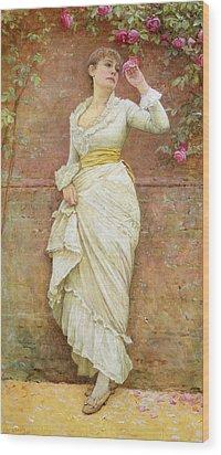 The Rose Wood Print by Edward Killingworth Johnson