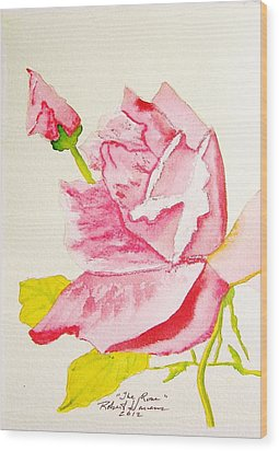 The Rose Wood Print by Robert  ARTSYBOB Havens