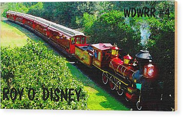 The Roy O. Disney Wood Print by David Lee Thompson