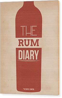 The Rum Diary Wood Print by Mike Taylor