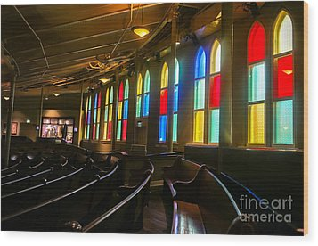 The Ryman Auditorium Wood Print