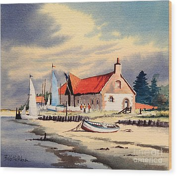 The Sailing Club  Wood Print by Bill Holkham