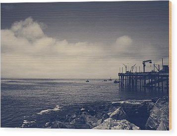 The Salty Air Wood Print by Laurie Search