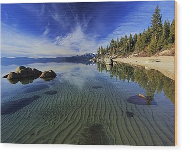 Wood Print featuring the photograph The Sands Of Time by Sean Sarsfield