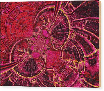 The Secret Life Of Hardware 1 Wood Print by Wendy J St Christopher