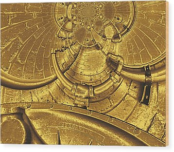 The Secret Life Of Hardware 2 Wood Print by Wendy J St Christopher