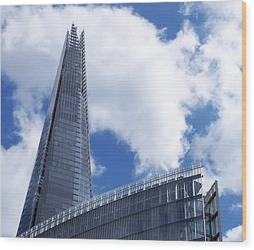 The Shard And The Place - London Wood Print