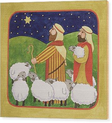 The Shepherds Wood Print by Linda Benton