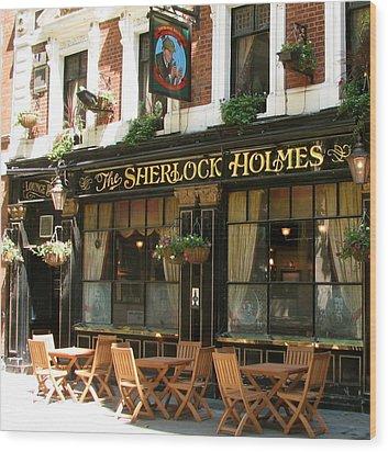 The Sherlock Holmes Wood Print