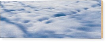 The Snow Carpet - Featured 2 Wood Print by Alexander Senin
