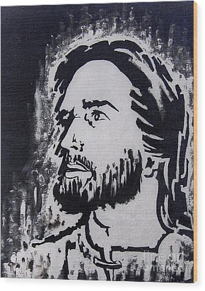 The Son Of God Wood Print by Greg Moores