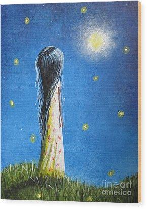 The Sound Of Light By Shawna Erback Wood Print by Shawna Erback