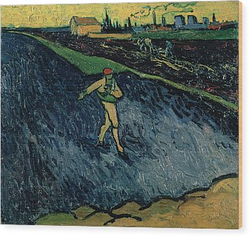 The Sower Wood Print by Vincent van Gogh