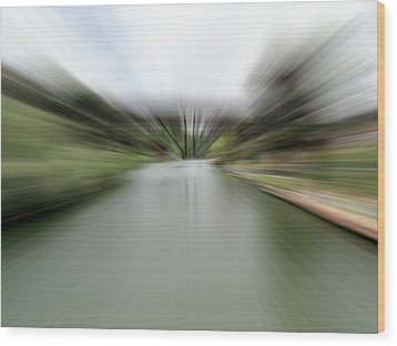 The Speed Of Calm Wood Print by Nick David