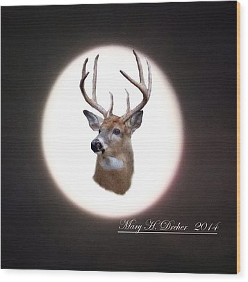 The Spirit Of Goldie Wood Print by Mary Dreher