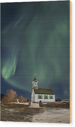 The Spirit Of Iceland Wood Print