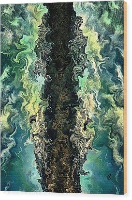 The Split By Rafi Talby Wood Print by Rafi Talby