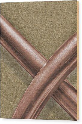 The Spot Wood Print by Paul Wear
