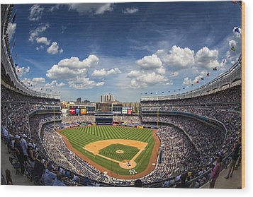 The Stadium Wood Print by Rick Berk