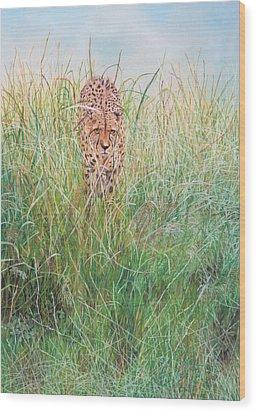 The Stalker Wood Print by John Hebb