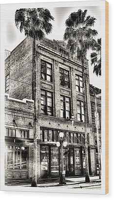 The Stein Building Wood Print by Marvin Spates