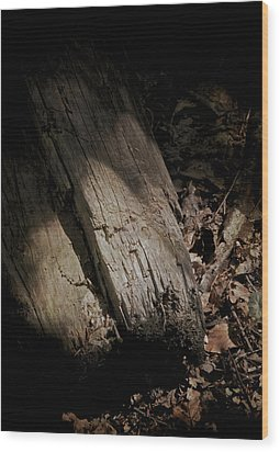 The Still Of The Light Wood Print by Odd Jeppesen