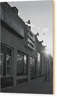 The Stone Pony Asbury Park Side View Wood Print
