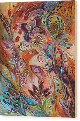The Stream Of Life Part I Wood Print by Elena Kotliarker