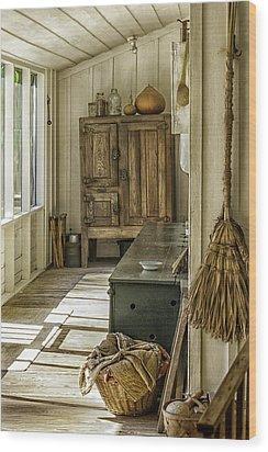 The Sun Room Wood Print